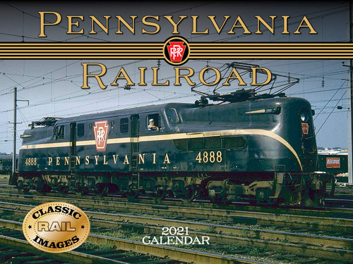 Pennsylvania Railroad 2021 Calendar