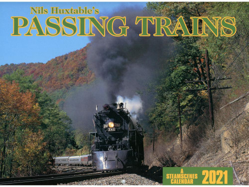 Nils Huxtable's Passing Trains 2021 Calendar