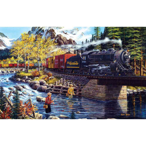Cascade Run 550 piece puzzle