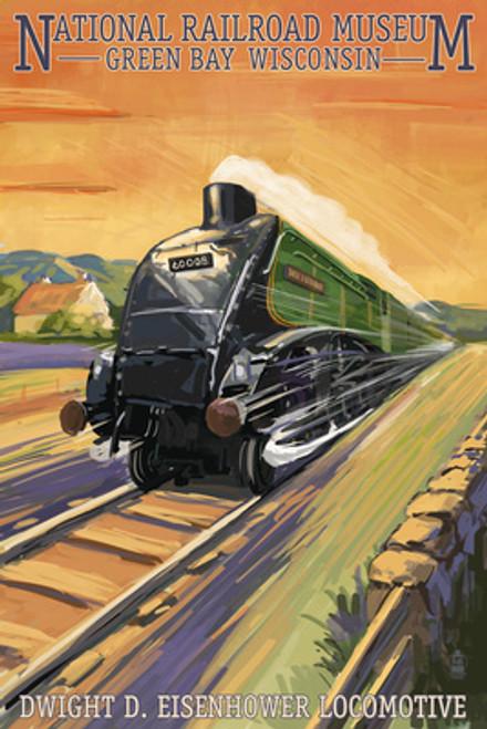 NRM Dwight D. Eisenhower Locomotive 1000-piece puzzle