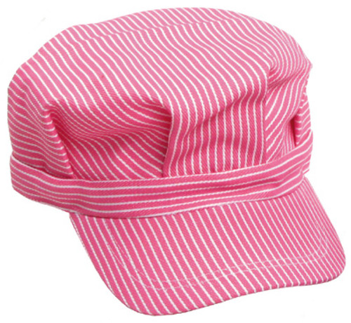 Engineer Hat - Pink Stripe