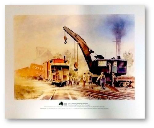 Minneapolis, St. Paul, and Sault Ste. Marie Railroad (Soo Line) W-1 Print by Steve Krueger