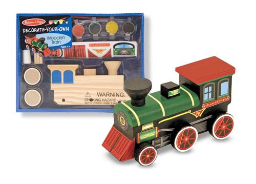 Melissa & Doug® Decorate-Your-Own Train