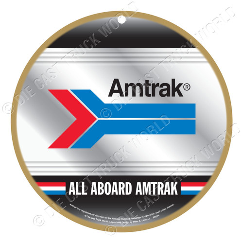 Amtrak® Wooden Plaque