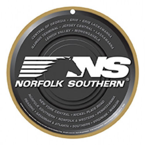 Norfolk Southern® (NS) Wooden Plaque