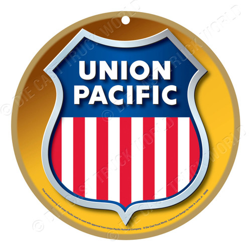 Union Pacific Wooden Plaque