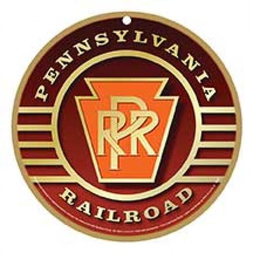 Pennsylvania Railroad (PRR) Wooden Plaque