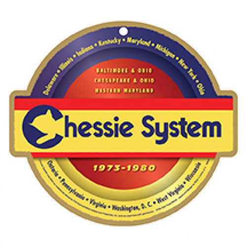 Chessie System Wooden Plaque