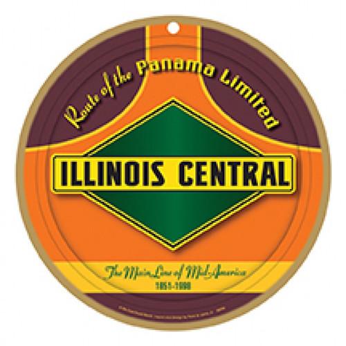 Illinois Central Wooden Plaque