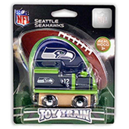 NFL Seattle Seahawks Wooden Train