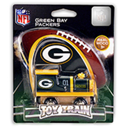 NFL Green Bay Packers Wooden Train