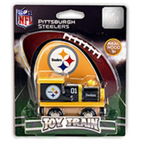 NFL Pittsburgh Steelers Wooden Train