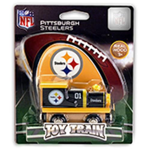 NFL Pittsburgh Steelers Wooden Train