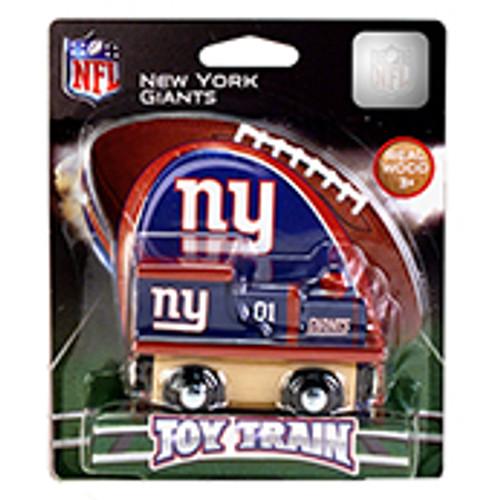 NFL New York Giants Wooden Train