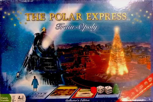 The Polar Express™ Train-Opoly Game
