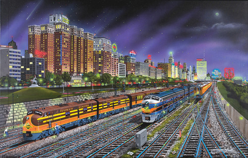 Chicago Nights 1000-piece Puzzle by SunsOut