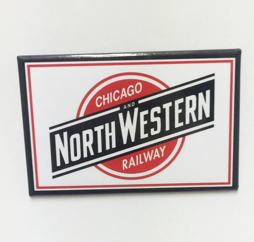 Chicago and Northwestern System Magnet