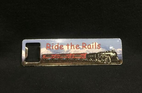 Ride the Rails Magnet/Bottle Opener