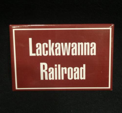 Lackawanna Railroad Magnet