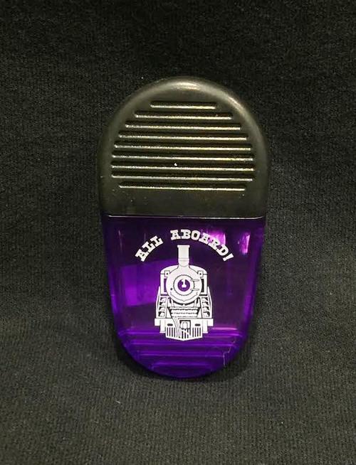 All Aboard Magnet Clip - Purple