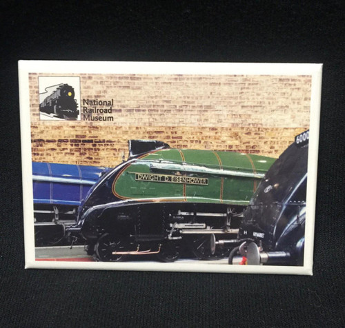 National Railroad Museum®  - Dwight D.  Eisenhower Locomotive Magnet
