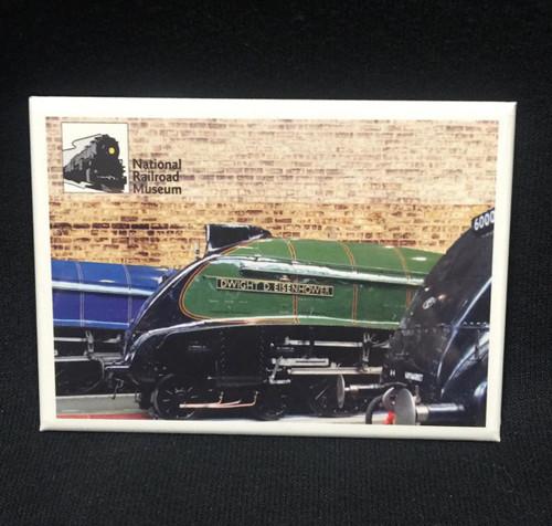 National Railroad Museum®  - Dwight D.  Eisenhower Locomotive Magnet
