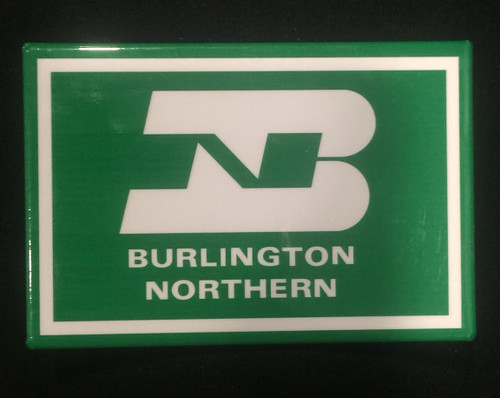 Burlington Northern Magnet