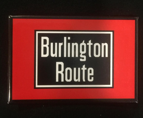 Burlington Route Magnet