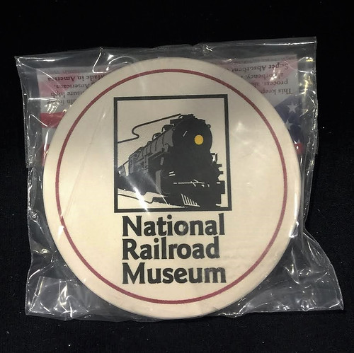 National Railroad Museum® Stone Coaster