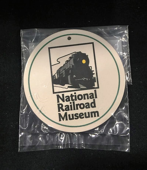 National Railroad Museum® Stone Ornament - Green