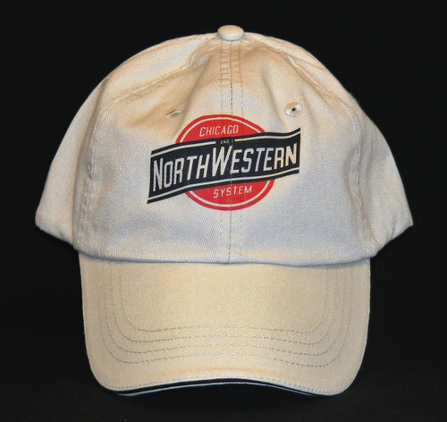 Chicago and Northwestern System Hat - Khaki