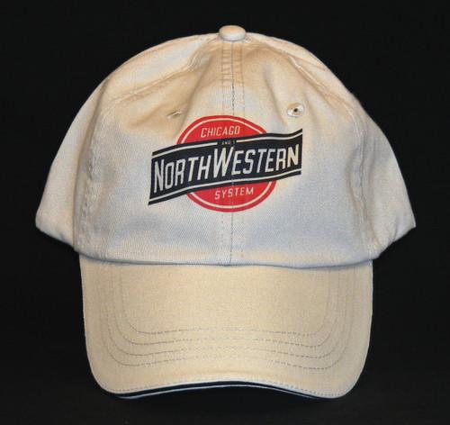 Chicago and Northwestern System Hat - Khaki