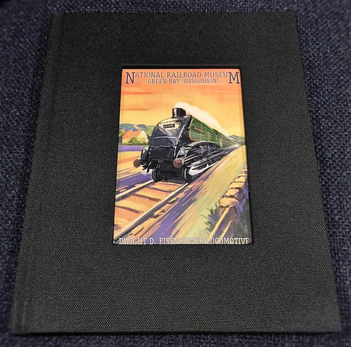Dwight D. Eisenhower Locomotive Artwork Notebook