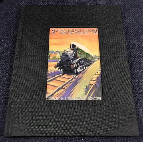 Dwight D. Eisenhower Locomotive Artwork Notebook