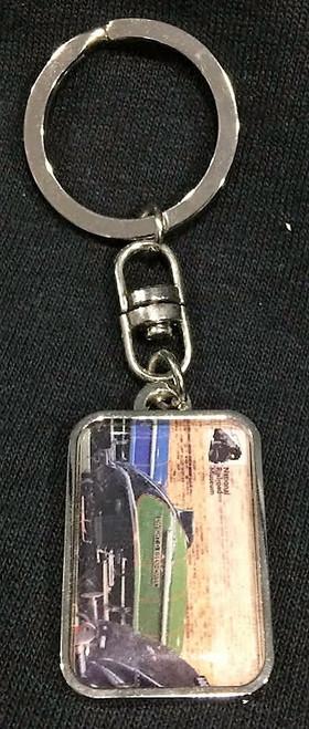 Dwight D. Eisenhower Locomotive Keychain