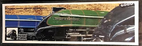 National Railroad Museum® - Dwight D. Eisenhower Locomotive Bookmark