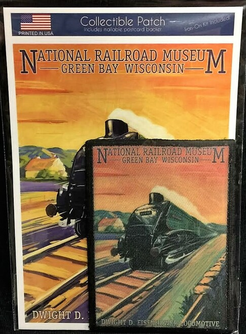 National Railroad Museum®- Patch: Eisenhower Locomotive Patch