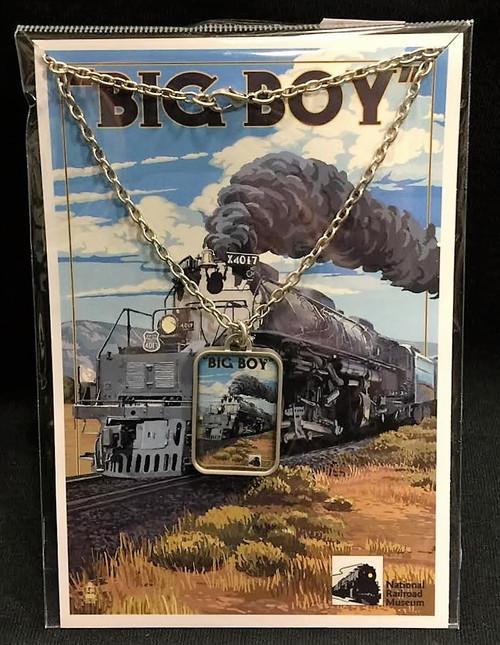 "Union Pacific ""Big Boy"" Necklace"