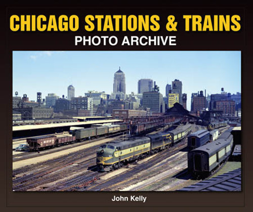 Chicago Stations and Trains Book