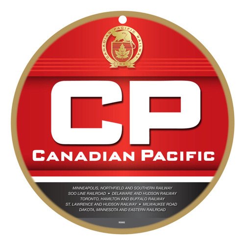 Canadian Pacific (CP) Wooden Plaque