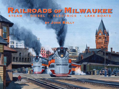 Railroads of Milwaukee Book