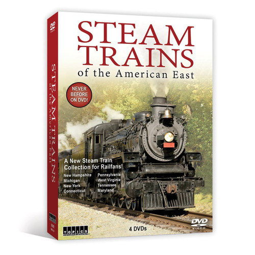 Steam Trains of the American East DVD