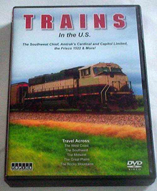 Trains in the U.S. DVD