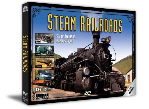 Steam Railroads: 4-DVD Set