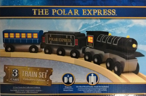 The Polar Express™ Wooden Train & Cars