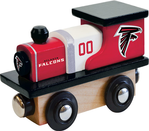 NFL Atlanta Falcons Wooden Train