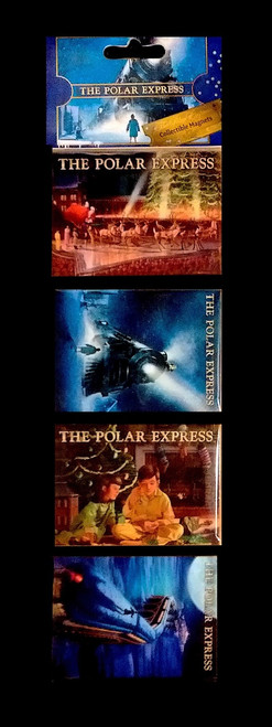 The Polar Express™ 4-piece Collectible Magnets