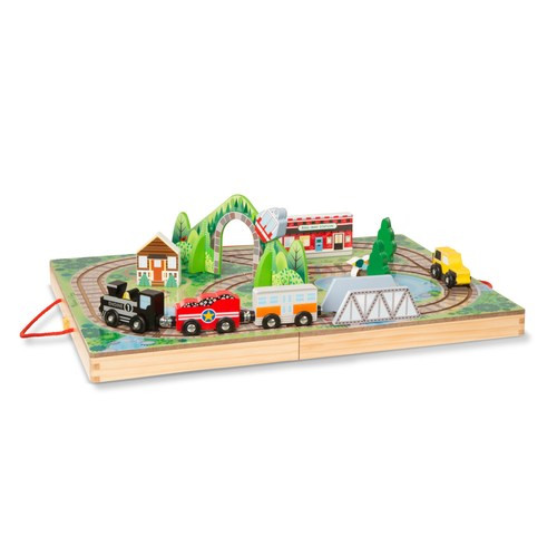 Melissa & Doug® Take-Along Railroad