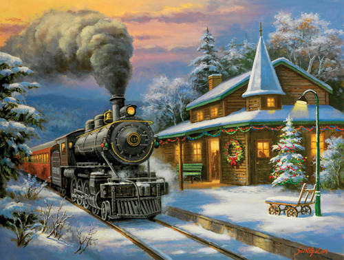 Holiday Ltd. 500-Piece Puzzle by SunsOut