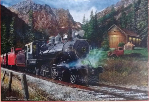 The Leinad Express 1000-Piece Puzzle by SunsOut
